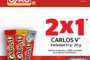 OXXO: Ofertas de Navidad 2X1 en Snickers, Carlos V y Skittles