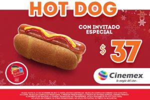 Promociones Cinemex Invitado Especial Payback Diciembre 2017