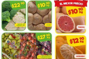 Bodega Aurrera frutas y verduras tiánguis de mamá lucha 19 al 25 de enero 2018