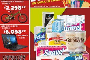 Comercial Mexicana y MEGA folleto de promociones del 5 al 11 de enero 2018