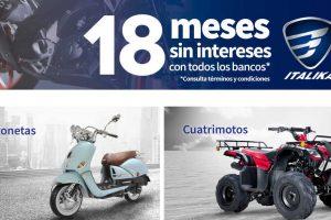 Elektra: Italika 24 MSI con Citibanamex y 20 MSI con BBVA Bancomer