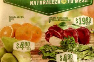 Frutas y Verduras Soriana 16 y 17 de Enero de 2018