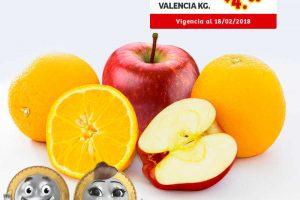 Frutas y Verduras Soriana Mercado 16 y 17 de Enero 2018