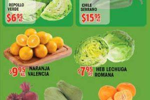 HEB: frutas y verduras del 16 al 22 de enero de 2017