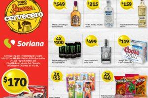 Jueves Cervecero Soriana 4 de Enero 2018