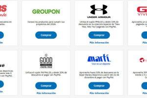 Paypal: Ofertas y Promociones Enero 2018