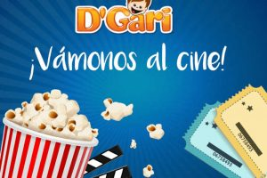 Promoción D'Gari y Cinemex Boletos GRATIS para el cine