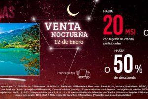 Venta Nocturna Sanborns 12 de Enero 2018