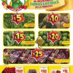 Bodega Aurrera frutas y verduras tianguis de mamá Lucha 9 al 15 de febrero 2018