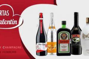 Bodegas Alianza: catálogo de ofertas San Valentín en vinos y licores
