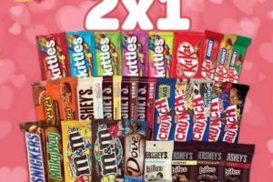 Promoción San Valentín en Oxxo 2x1 en chocolates del 10 al 14 de Febrero