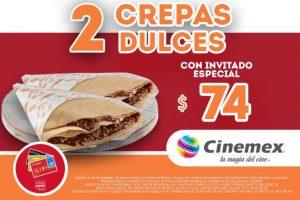 Promociones Cinemex tarjeta Invitado Especial Payback Febrero 2018