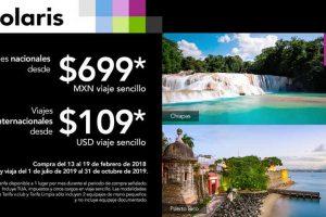 Volaris Promociones vuelos nacionales desde $699 e internacionales desde $109 DLS