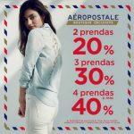 Aéropostale Hasta 40% de descuento en prendas al 31 de Marzo