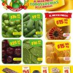 Bodega Aurrera frutas y verduras tianguis de mamá lucha 30 de Marzo al 5 de Abril 2018