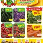 Bodega Aurrera frutas y verduras tianguis de mamá lucha al 29 de Marzo