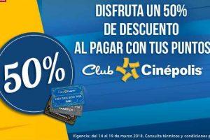 Cinépolis Klic 50% de descuento en rentas o compras de películas, o series con Club Cinépolis