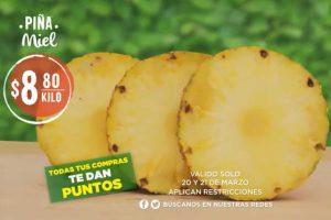 Frutas y verduras Comercial Mexicana 20 y 21 de marzo 2018