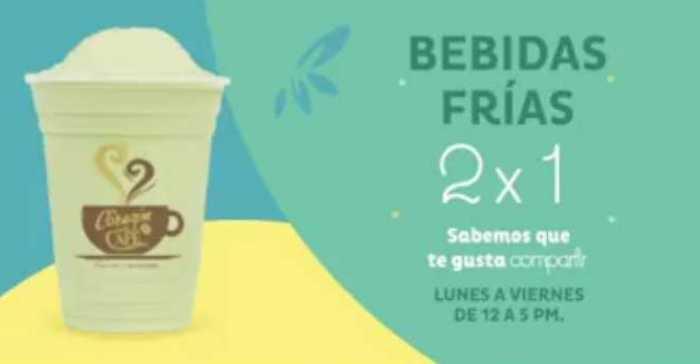 El Globo: Sabores de Primavera 2×1 en bebidas frías