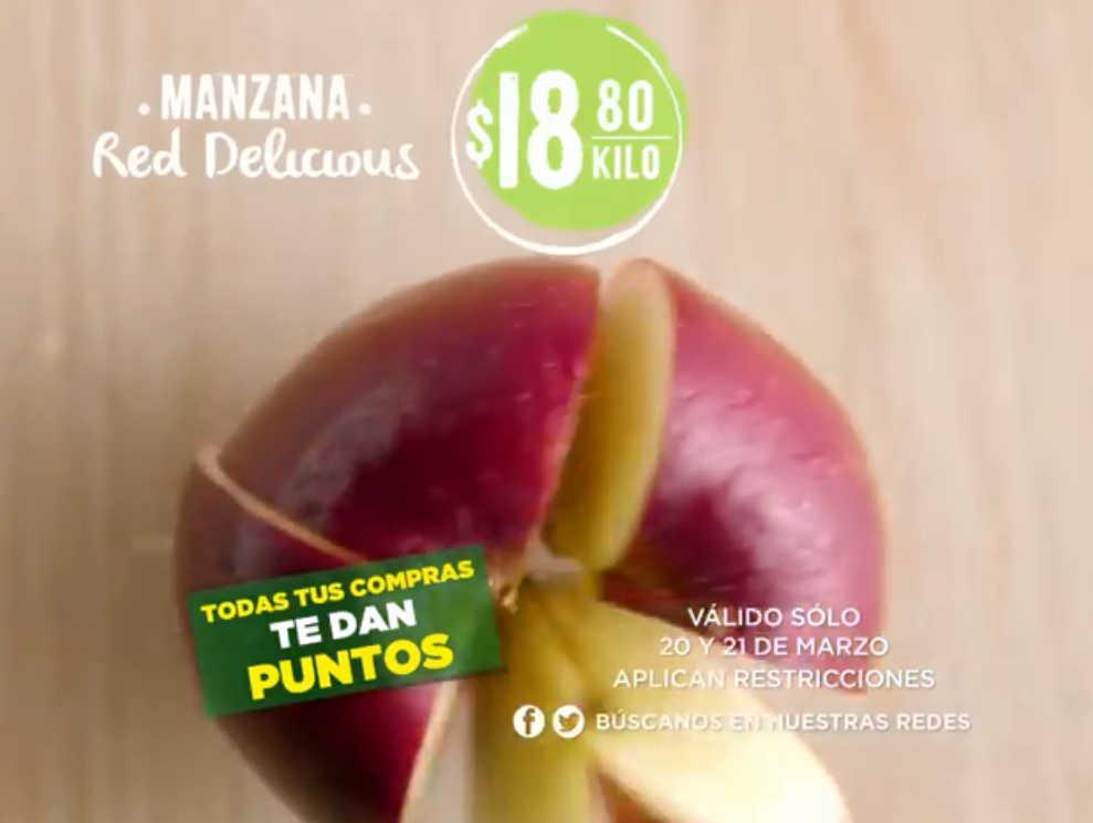 Frutas y Verduras Soriana 20 y 21 de Marzo de 2018