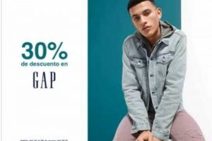 GAP 30% de descuento en todos los productos