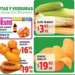 Frutas y Verduras HEB del 13 al 19 de Marzo de 2018