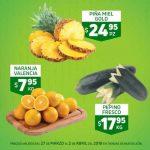Folleto Frutas y Verduras HEB del 27 de Marzo al 2 de Abril 2018