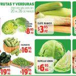 Frutas y Verduras HEB del 20 al 26 de Marzo de 2018