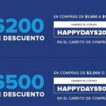 InnovasportHappy Days 2018 $500 en cupones, Hasta 12 MSI con PayPal