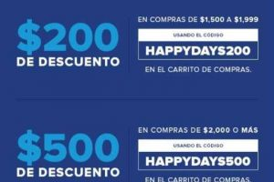 Innovasport Happy Days 2018 $500 en cupones, Hasta 12 MSI con PayPal