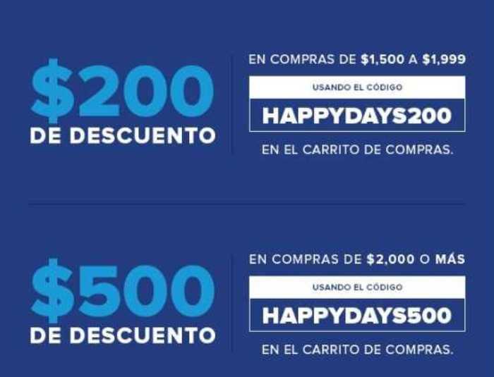 Innovasport: Happy Days 2018 $500 en cupones, Hasta 12 MSI con PayPal