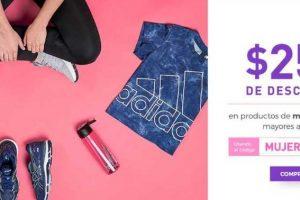 Innovasport cupón de $250 de descuentos en productos de mujer