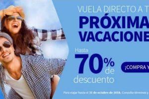 Interjet Ofertas de Semana Santa 70% de descuento marzo 2018