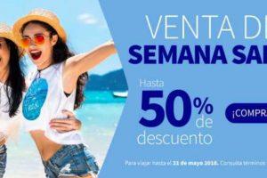 Interjet Ofertas de semana santa Hasta 50% de descuento