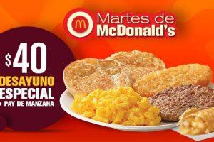 McDonalds Cupones Martes de McDonald's al 6 de febrero