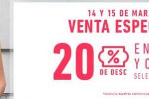Martí Venta Especial 20% de descuento en Ropa y Calzado al 15 de marzo