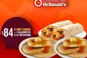 Cupones Martes de McDonalds 27 de marzo 2018