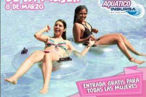 Promoción Parque Aquatico Inbursa Entrada Gratis para todas Las Mujeres