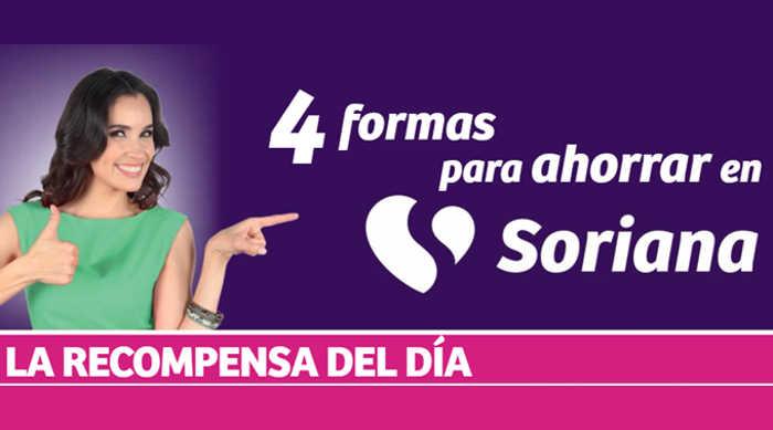 Soriana: Ofertas Recompensas del Día del 20 al 24 de marzo de 2018