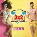 Sears 3×2 en trajes de baño del 15 de marzo al 8 de abril