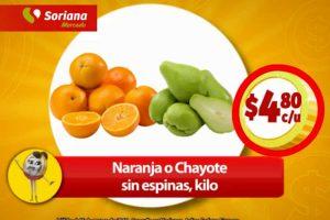 Frutas y Verduras Soriana Mercado del 13 al 15 de Marzo 2018