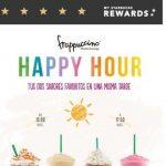 Happy Hour Starbucks 2x1 frappuccinos del 26 de marzo al 1 de abril