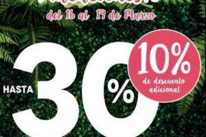 The Home Store 4 Días de Venta Especial Vacaciones del 16 al 19 de marzo