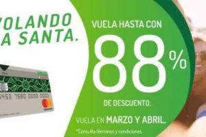 VivaAerobus Ofertas de Semana Santa 88% de descuento al 18 de marzo