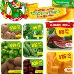 Bodega Aurrera frutas y verduras tianguis de mamá lucha del 20 al 26 de abril 2018