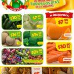 Bodega Aurrera frutas y verduras tianguis de mamá lucha del 13 al 19 de abril 2018