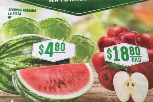 Comercial Mexicana frutas y verduras del campo 3 y 4 de abril 2018