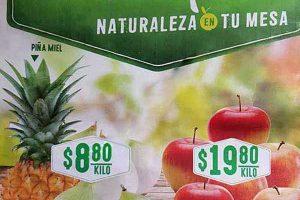 Comercial Mexicana frutas y verduras del campo 24 y 25 de abril 2018