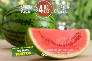 Comercial Mexicana frutas y verduras del campo 17 y 18 de abril 2018
