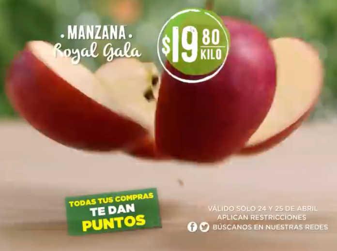 Mega Soriana: Frutas y Verduras del Campo 24 y 25 de Abril 2018